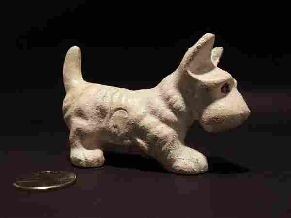 Cast Iron Scottish Highland White Terrier Westie Dog