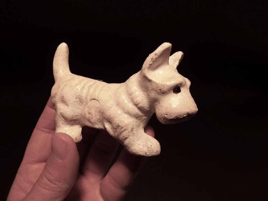 Cast Iron Scottish Highland White Terrier Westie Dog - 9