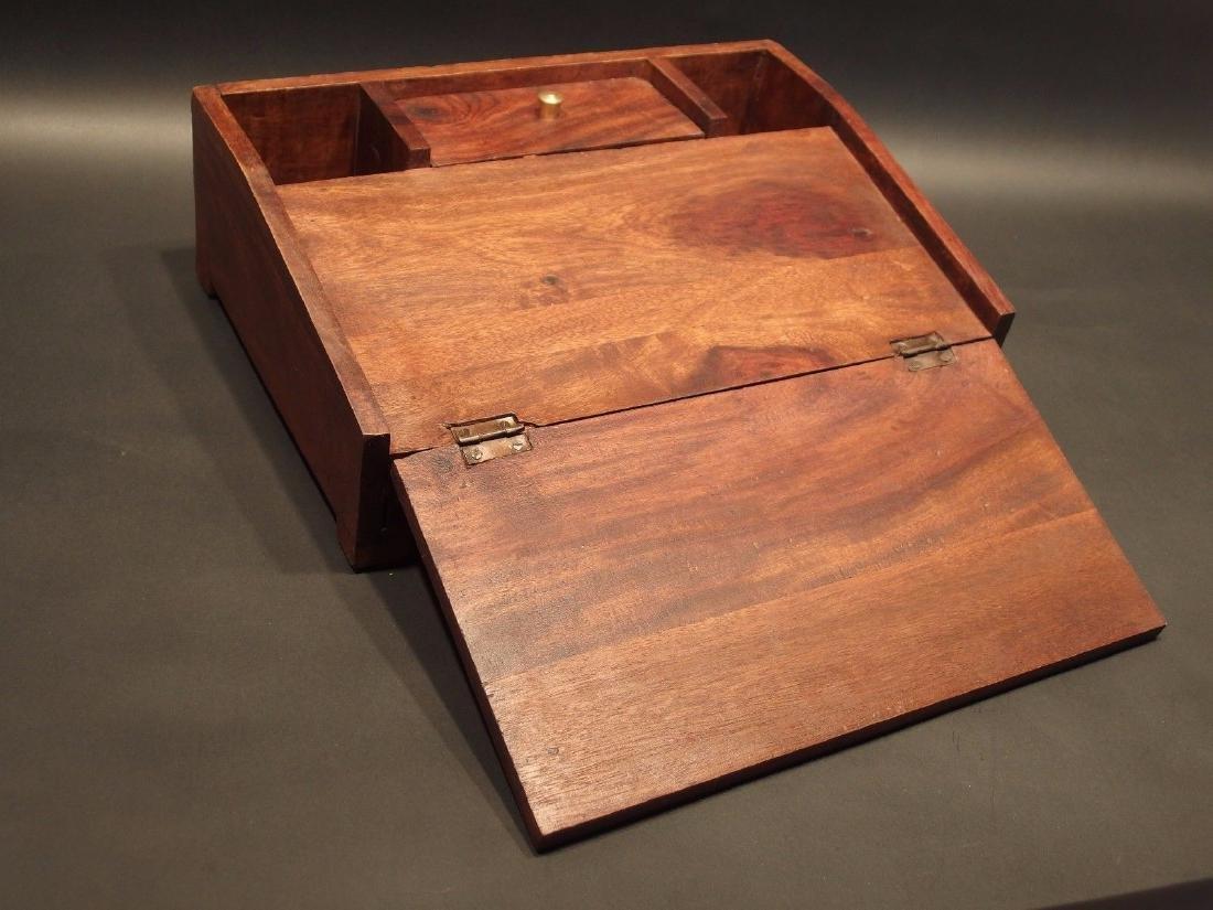 Folding Document Writing Slope Lap Desk Campaign Box - 3