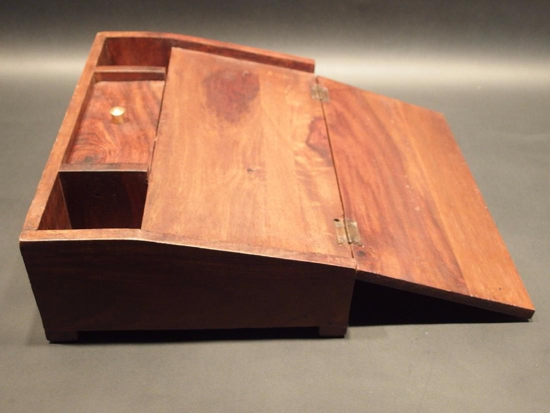 Folding Document Writing Slope Lap Desk Campaign Box - 4