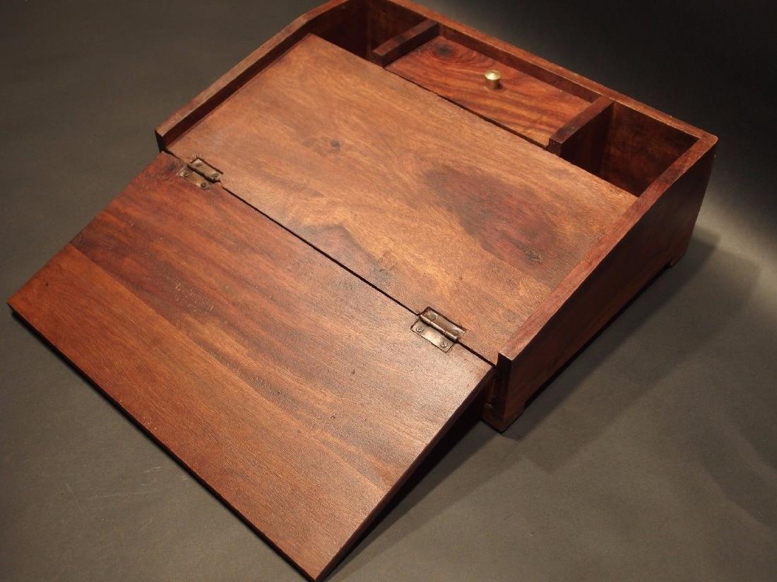 Folding Document Writing Slope Lap Desk Campaign Box - 7
