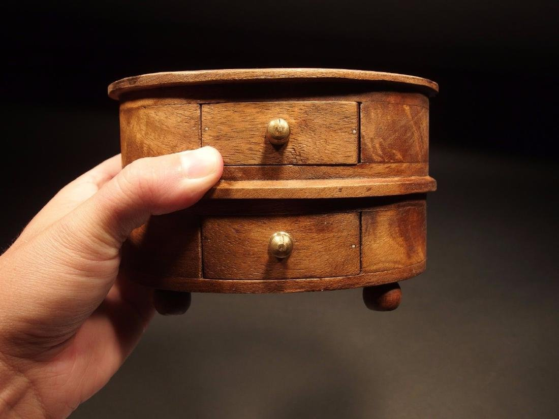 Wood Jewelry Trinket Box - 4