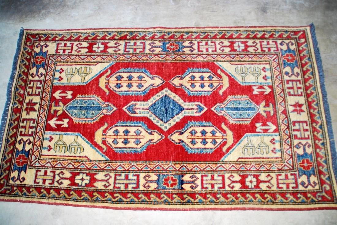 Vintage Mid 20th Century Kazak  Rug 5.2x3