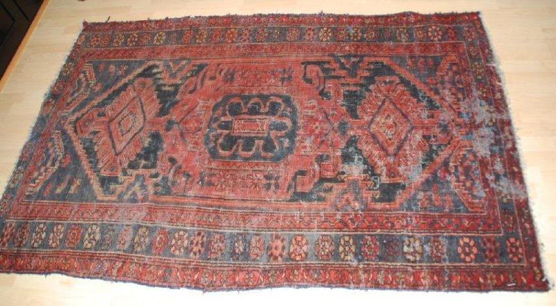 Antique Persian  Rug 6.5x4