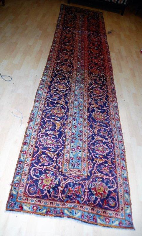 Vintage Persian Runner Rug 14x3