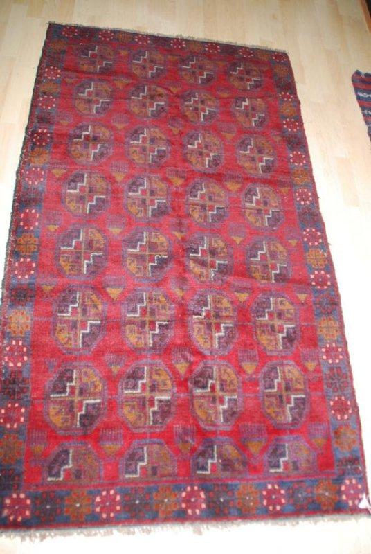 Vintage Hamadden  Rug 6.2x3.6