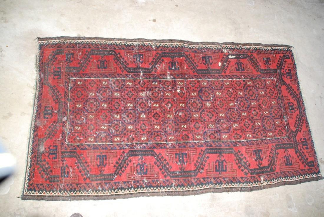 Antique Persian  Rug 5.8x3