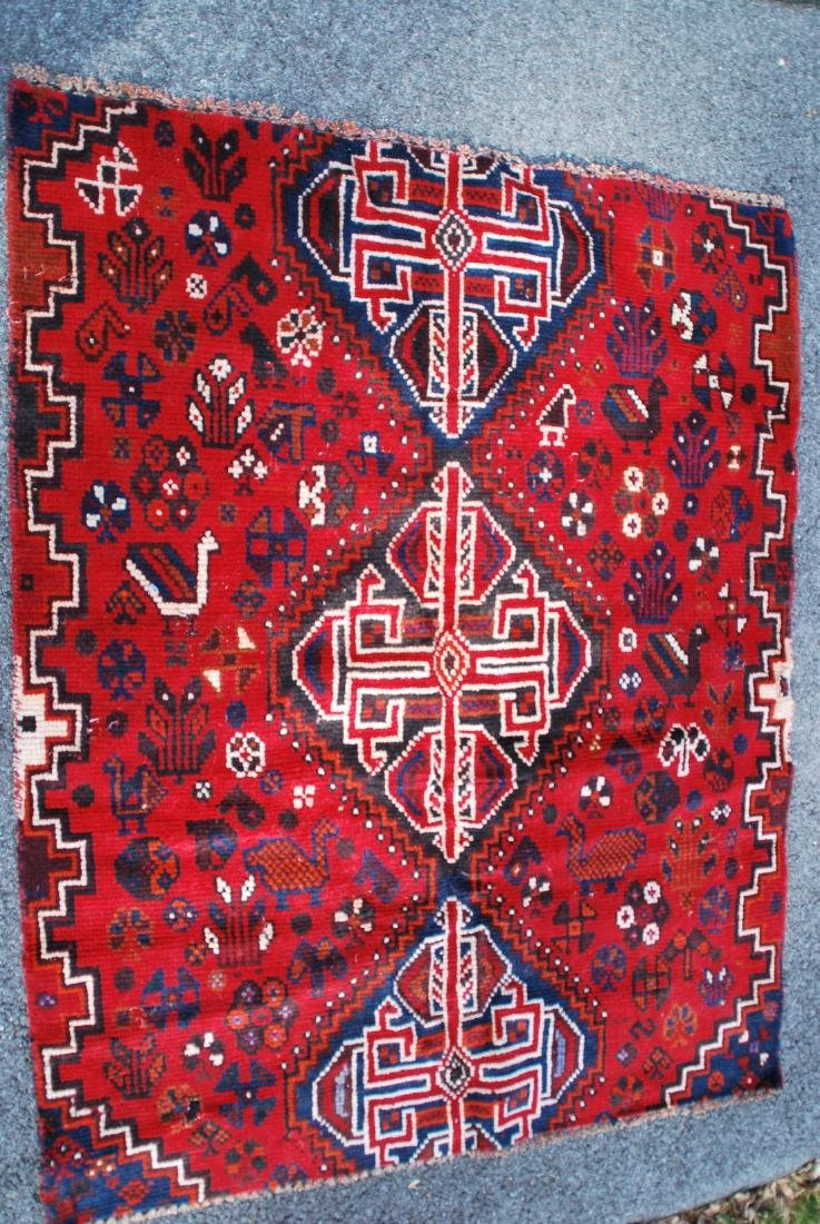 Tribal Persian  Rug 4.7x3.8