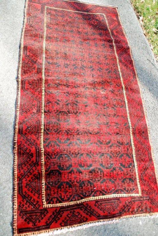 Vintage Persian Rug 6.3x3
