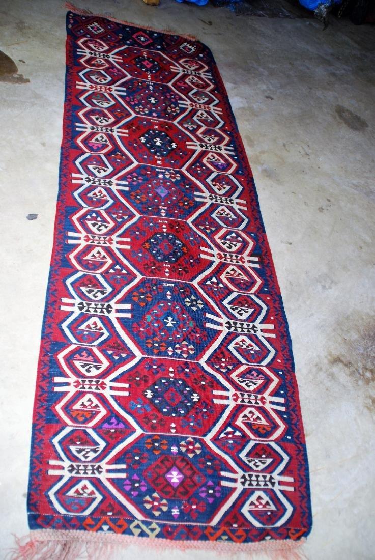 Antique Tunisian Kilim Rug 6x3