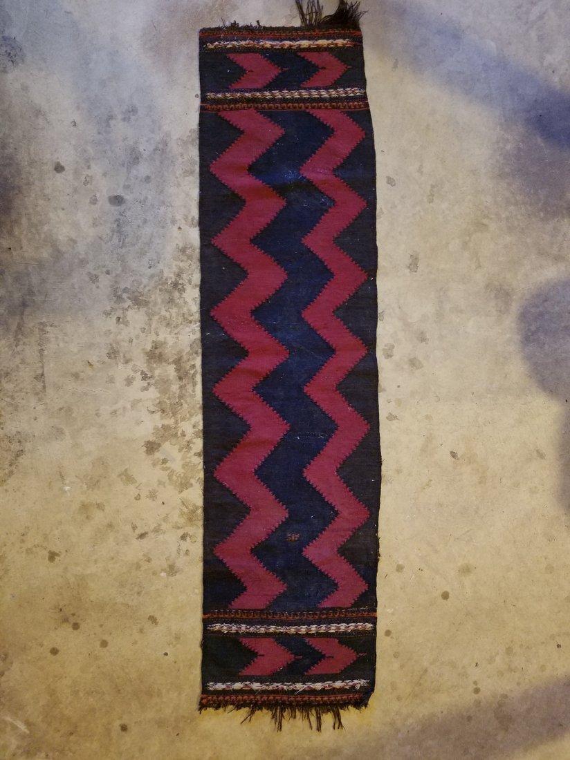 Vintage Morroccan Kilim Rug 5.10x1.6