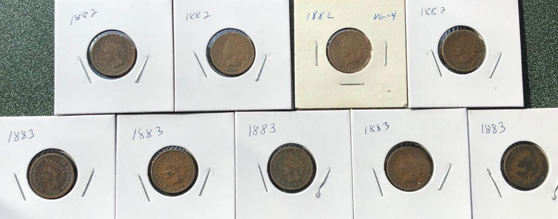 26 Indian Head Pennies