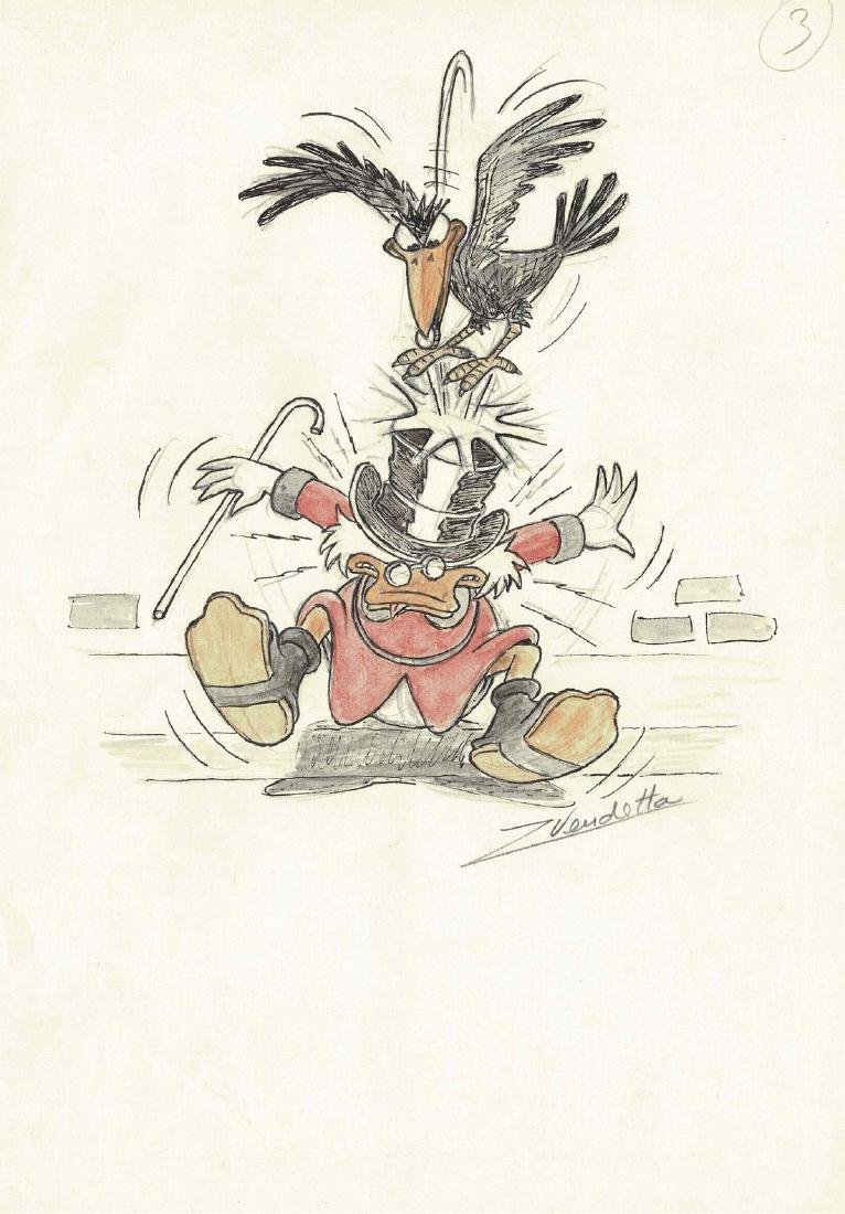 Original Scrooge and the Crow #3 Z. Vendetta
