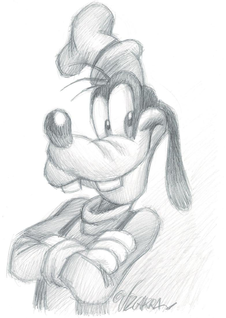 Original Drawing - Goofy Vizcarra, Joan