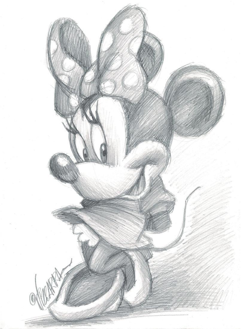 Original Drawing - Minnie Mouse Vizcarra, Joan