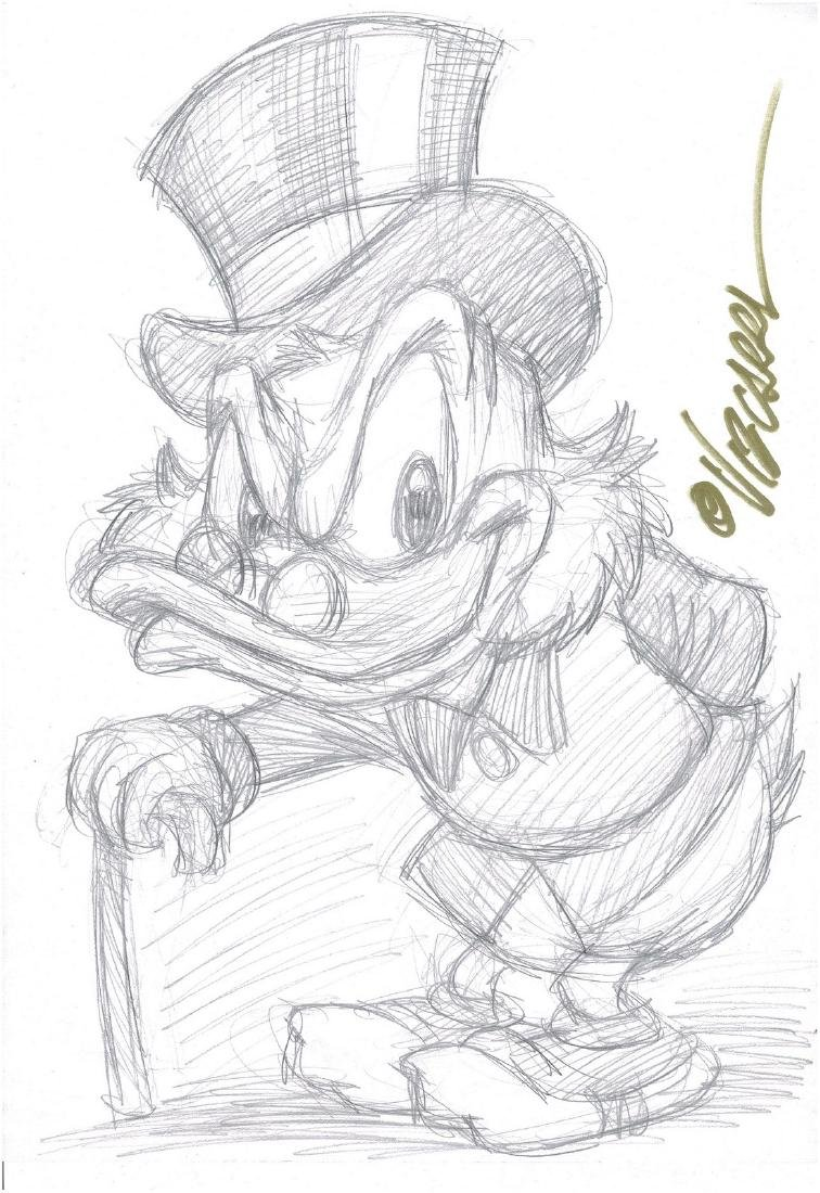 Uncle Scrooge - Sketch #2 Vizcarra, Joan