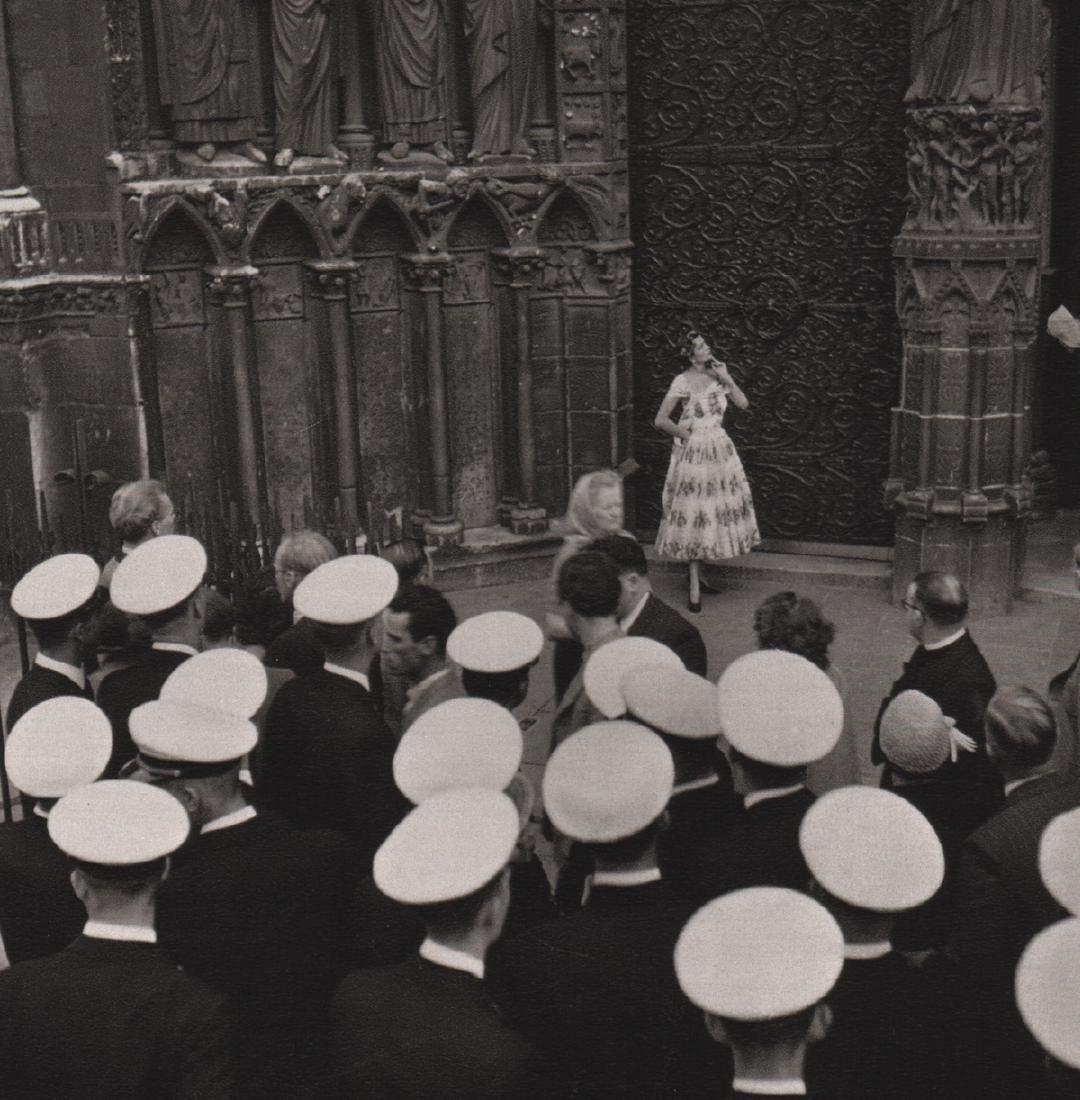 EDOUARD BOUBAT - Notre-Dame, Paris, 1951