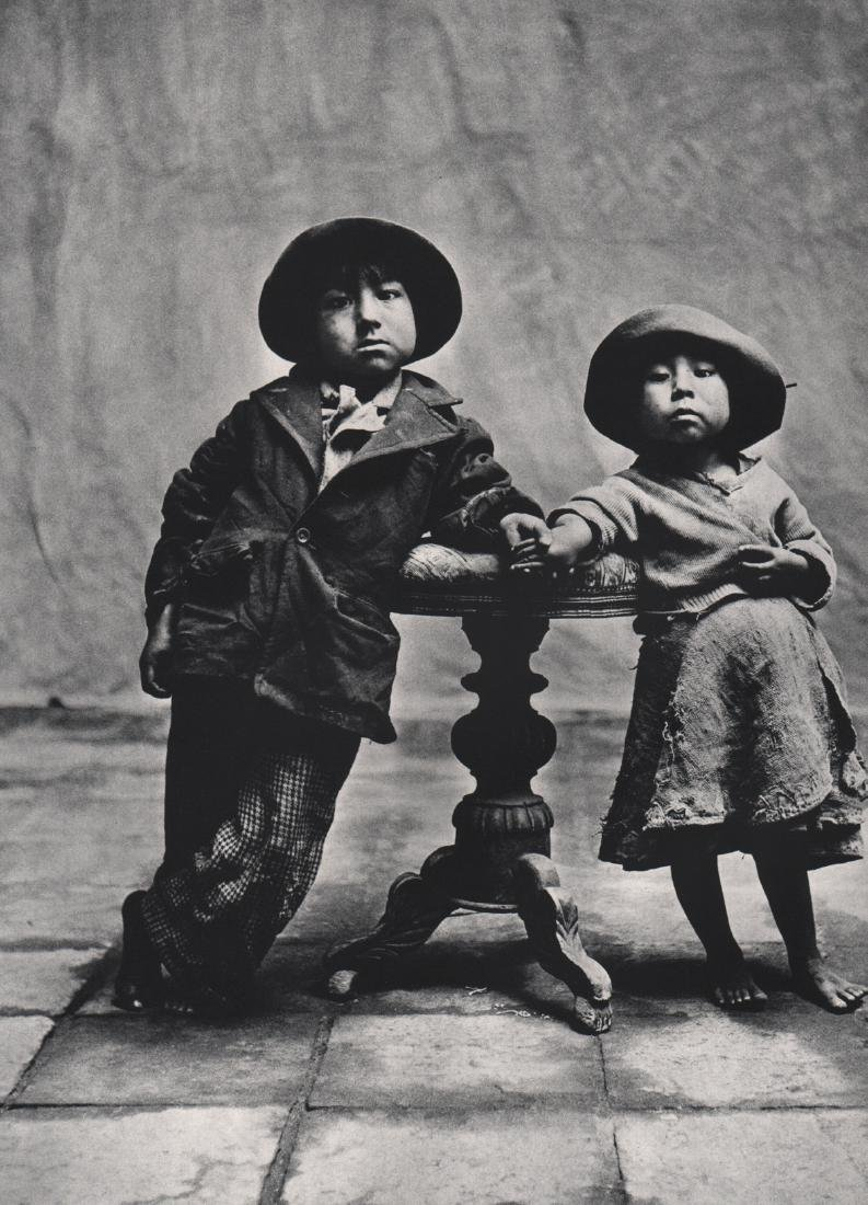 IRVING PENN - Children from Cuzco