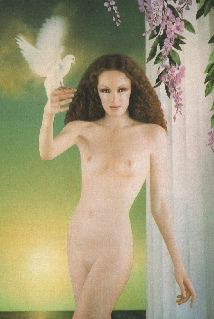 PIERRE & GILLES - Allysson and the Dove