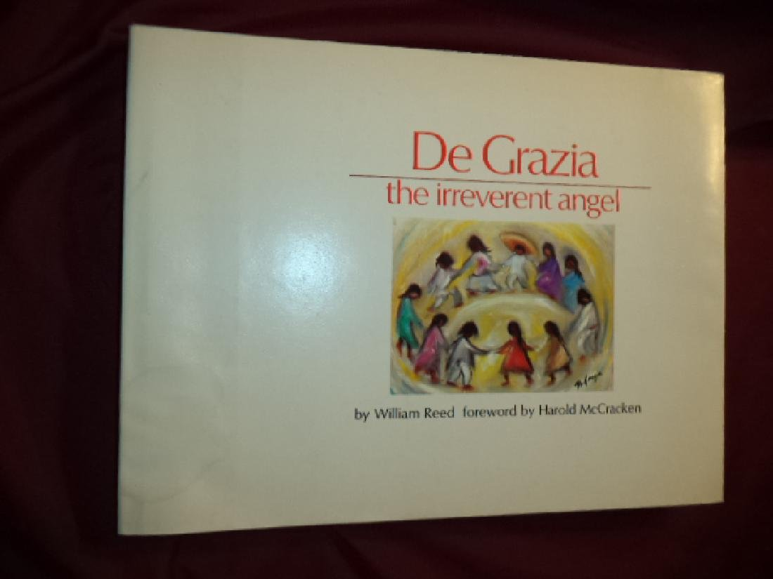 De Grazia The Irreverent Angel Inscribed by the author