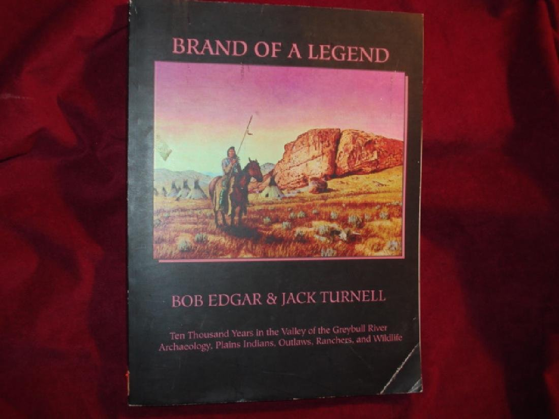 Brand of Legend 10,000 Years Valley of Greybull River