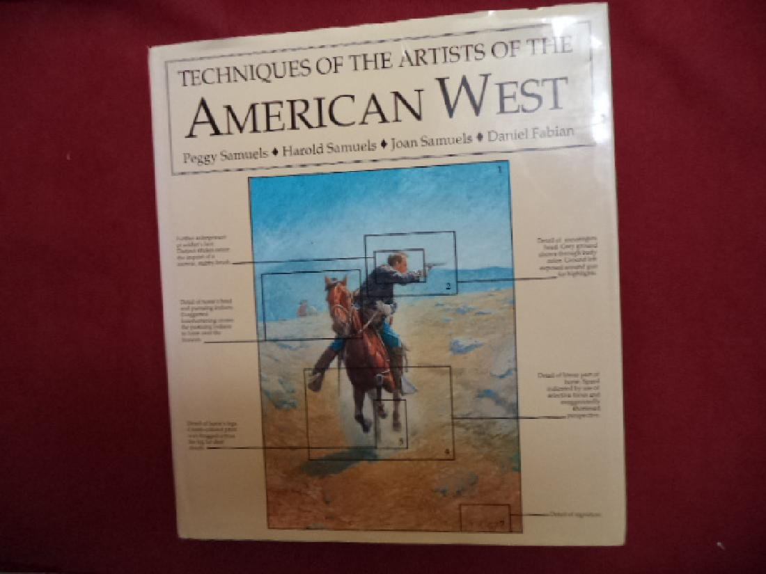 Techniques of the Artists of the American West.