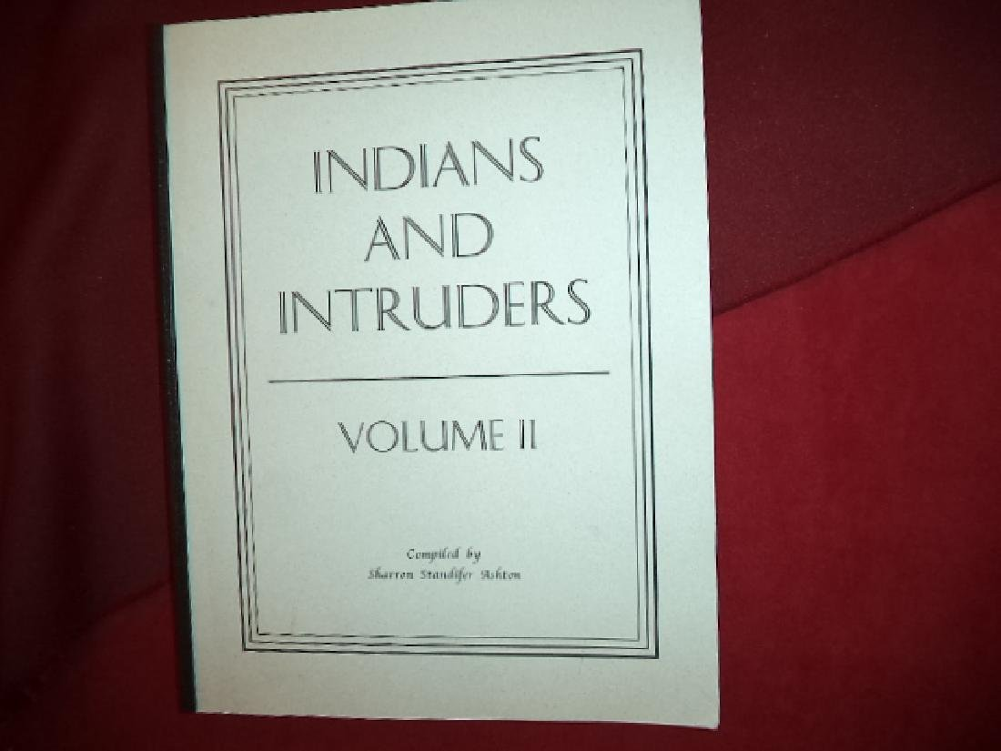 Indians & Intruders Volume II Oklahoma, Cherokee