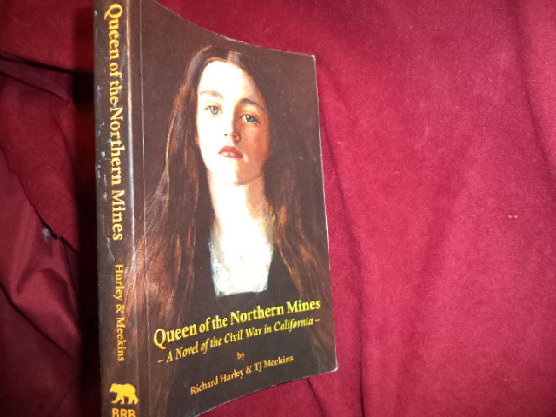 Queen Northern Mines Signed authors Novel of Civil War