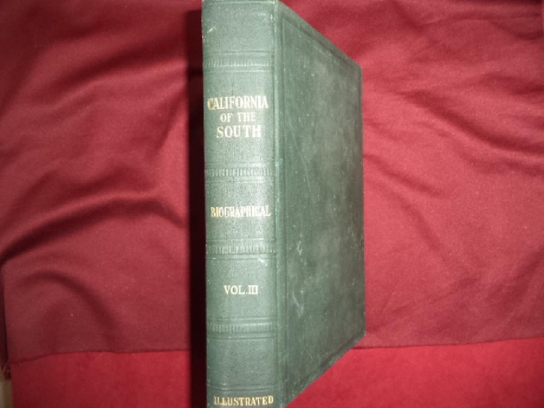 California of the South History Biographical Volume III