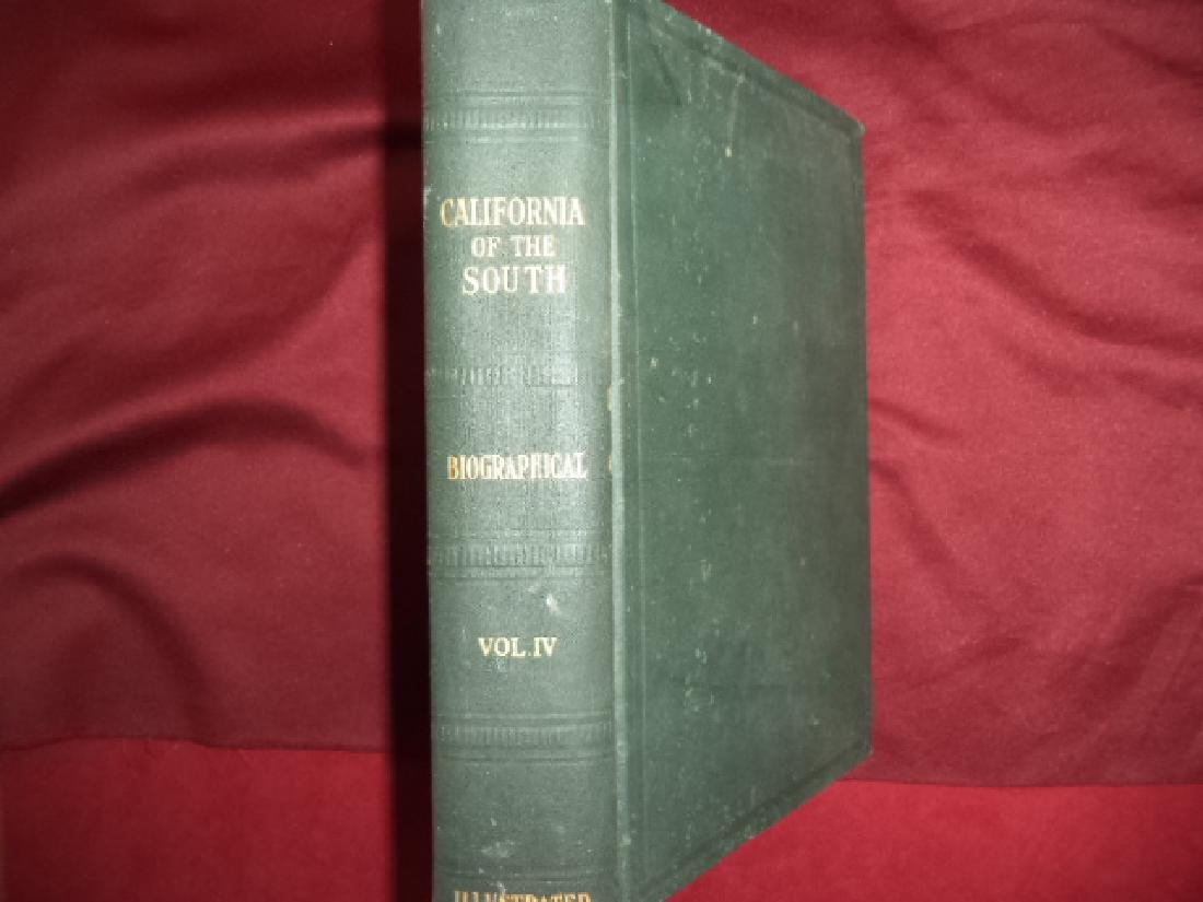 California of the South History Biographical Volume IV