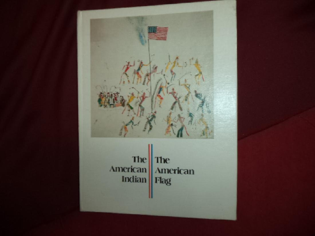 American Indian American Flag Inscribed limited edition