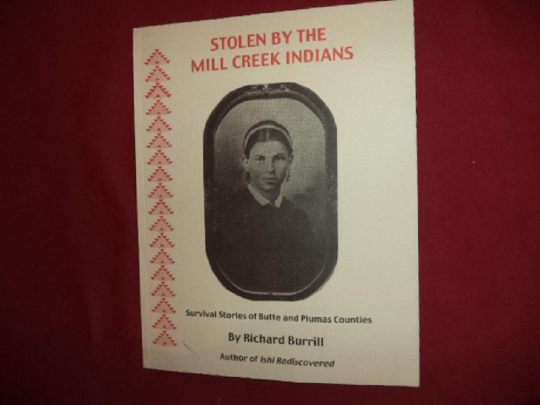 Stolen By Mill Creek Indians Signed Survival Stories