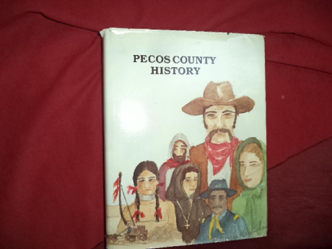 Pecos County History.