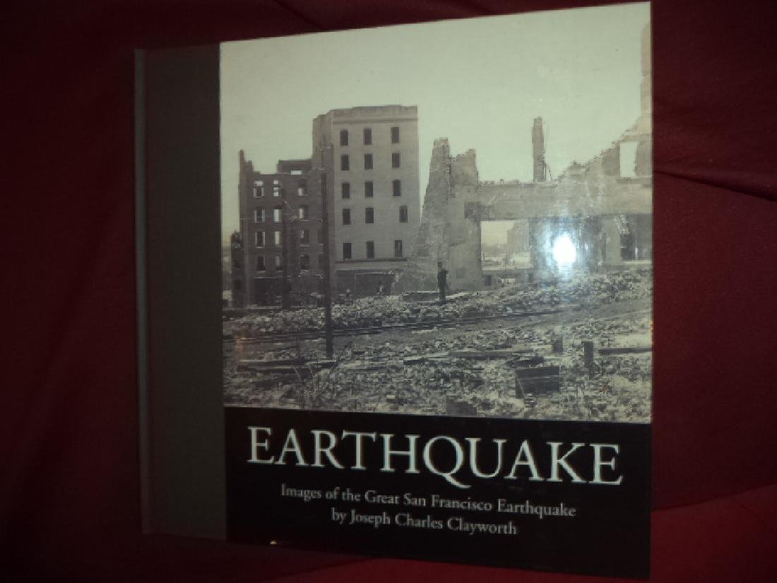 Inscribed Images of Great San Francisco Earthquake