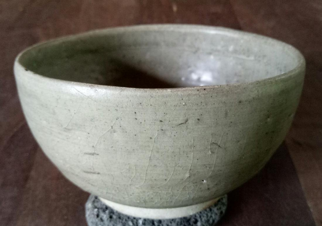 Chinese Song Dynasty Celadon Alms Bowl, c1000