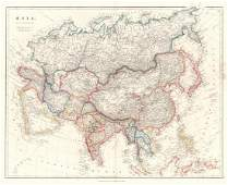 Arrowsmith: Antique Map of Asia, 1842