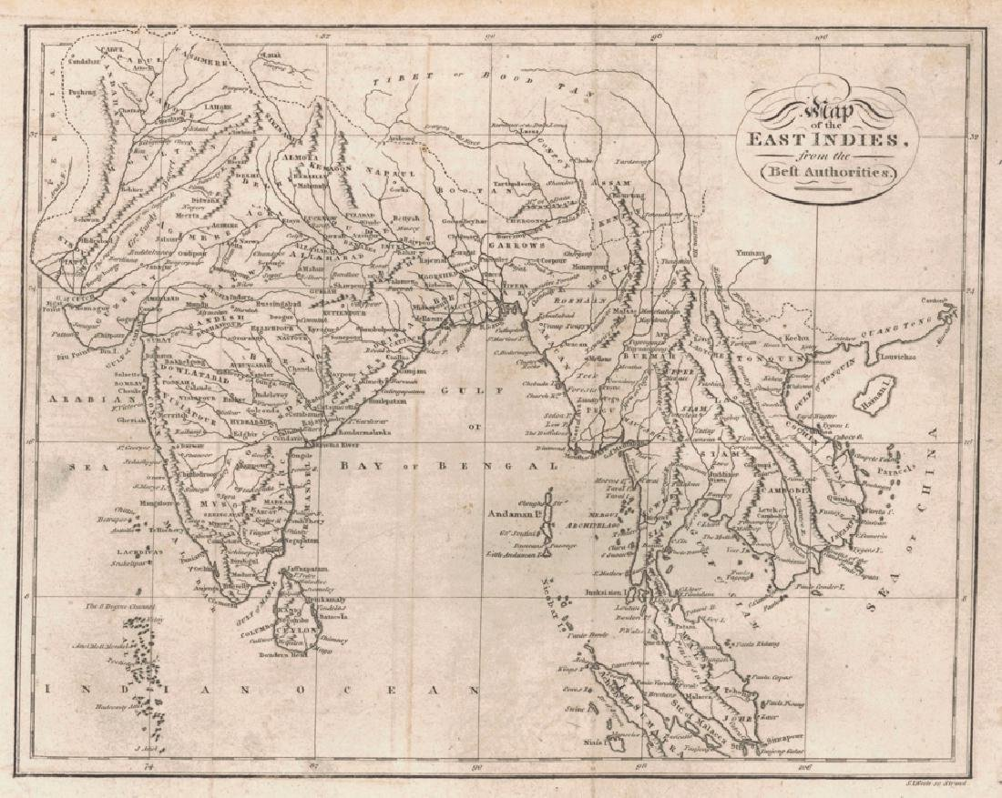 Map of the East Indies from the Best Authorities 1805