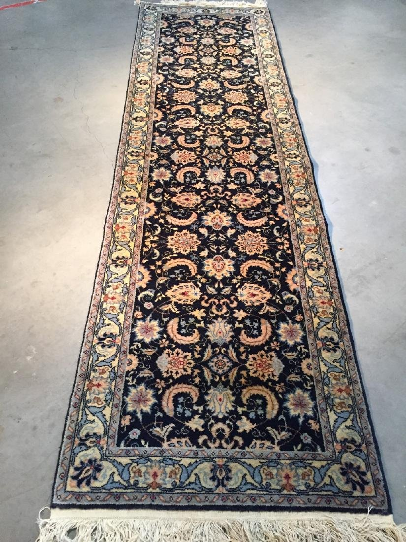 Persian Sarouk Design Runner Rug 2.7x9.2