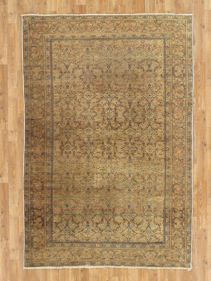 Antique Turkish Kasary Rug 4.8x6.11