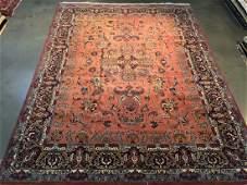 Stunning Persian Sarouk Design Rug 9x12