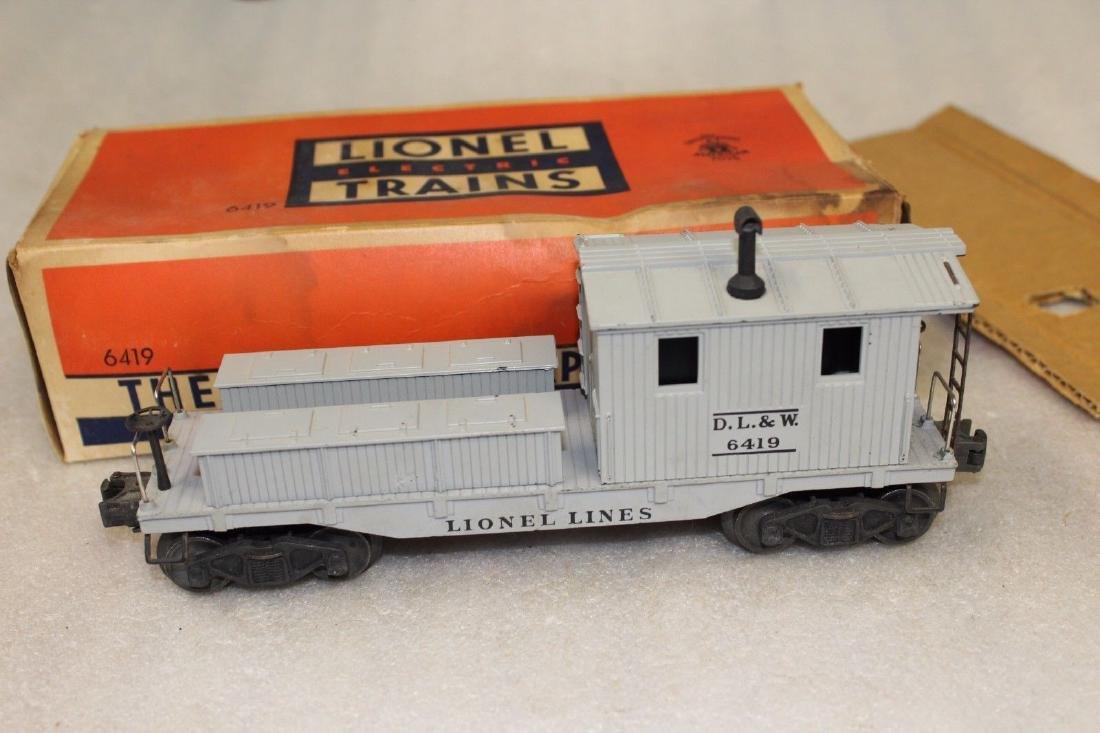 Lionel Postwar 6419 DL&W Work Caboose Boxed