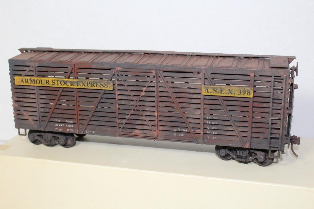 Atlas O Weathered Armour Stock Express Freight Car