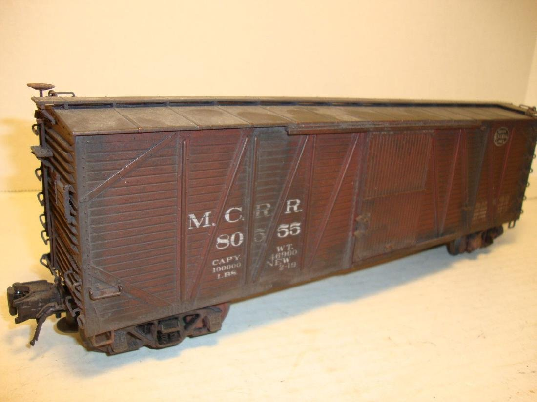 Atlas O #6469-1 Michigan Central NYC Weathered Boxcar