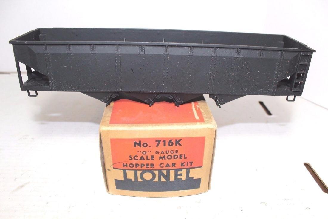 Lionel Prewar Scale Freight 716K B&O Hopper & Original