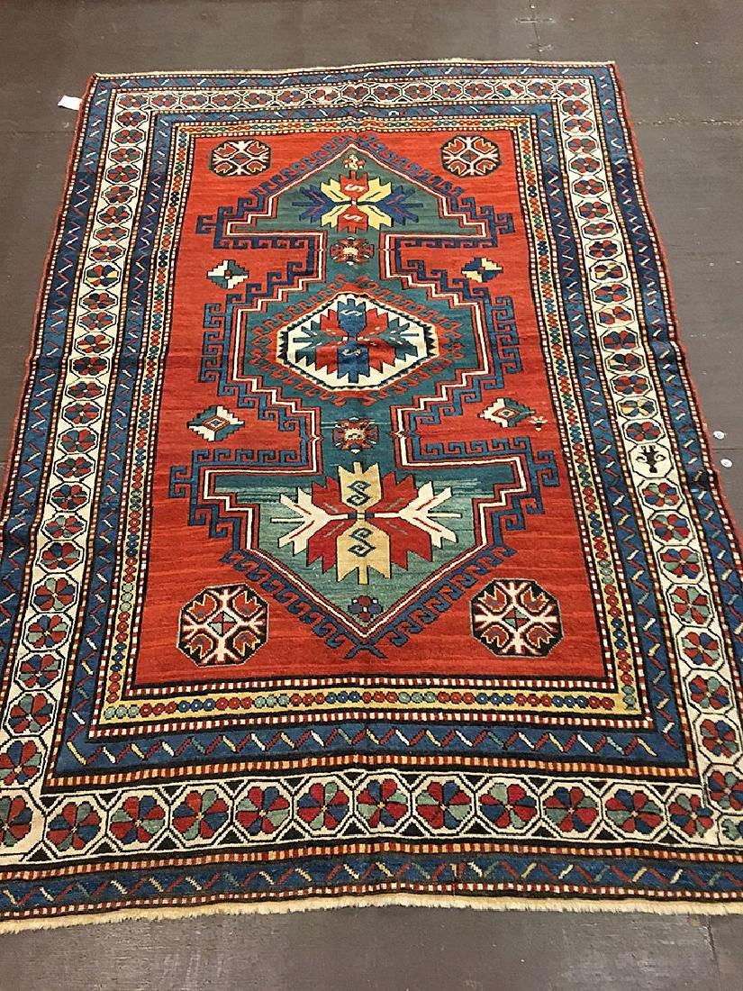 Vintage Kazak, Lambaloo Rug 8.2x5.6