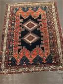 Antique Afshar Rug 5x4