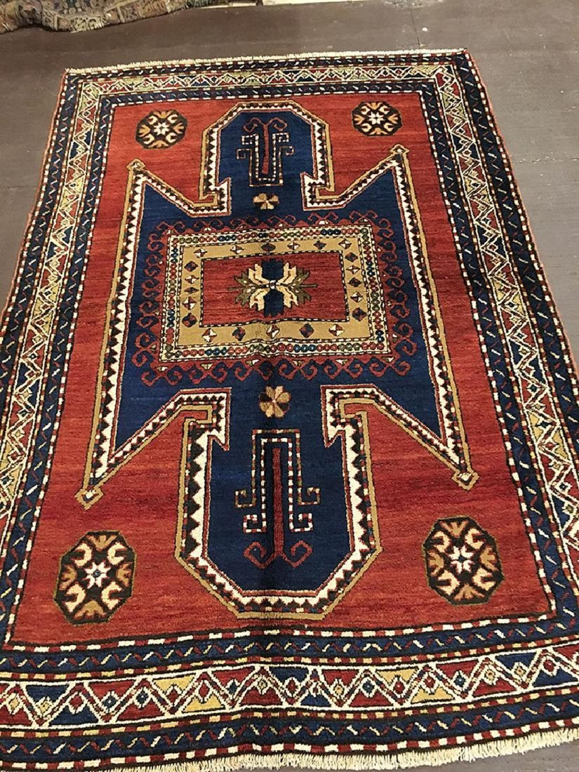 Vintage Kazak, Sewan Rug 8.10x5.10