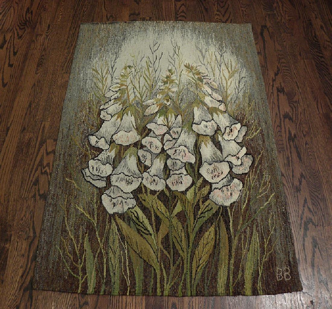 Vintage Tapestry Rug 3x2.9