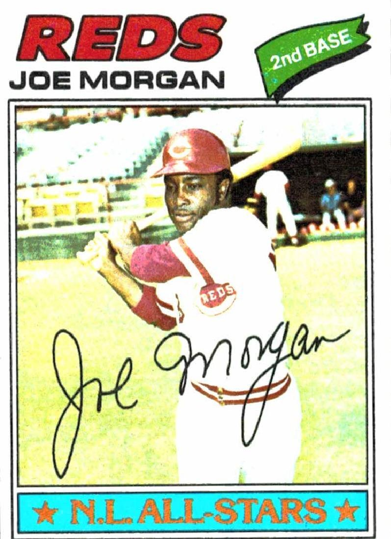 1977 Topps Joe Morgan