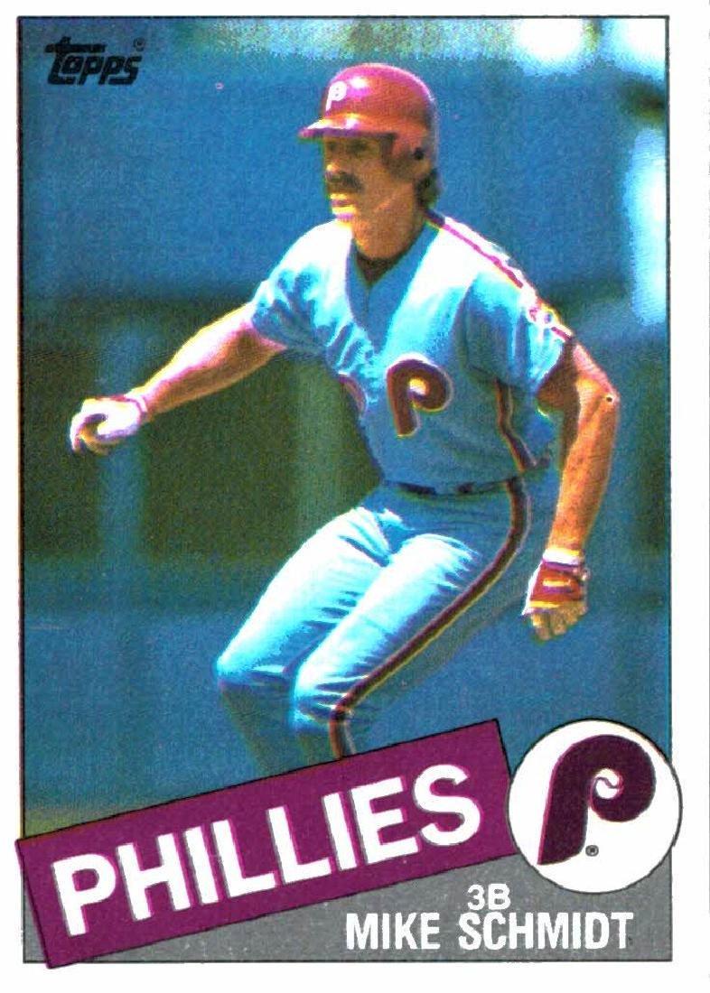 1985 Topps Mike Schmidt